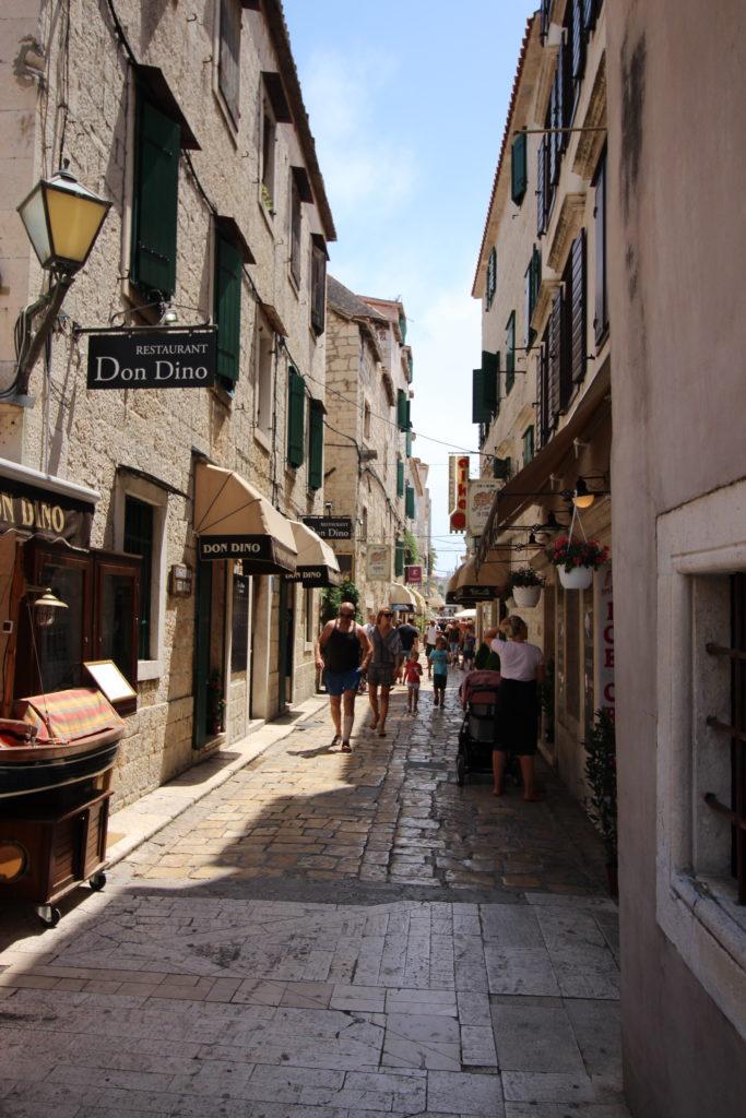 Smalle straatjes Trogir